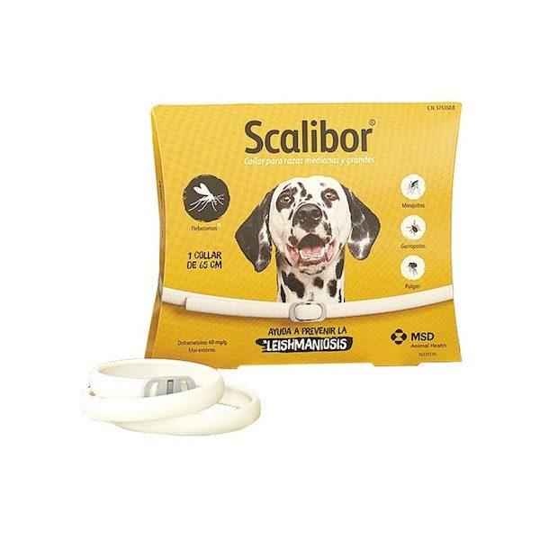 Collar antiparasitario para perros Scalibor Leishmaniosis